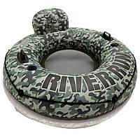 Кресло-круг надувное для плавания / Надувной плавательный круг / Надувной круг для бассейна, фото 1