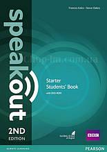 Speakout 2nd Edition Starter Student's Book + DVD-ROM (учебник с диском, второе издание)