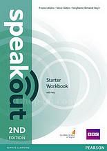 Speakout 2nd Edition Starter Workbook with Key (Рабочая тетрадь с ответами, 2-е издание)