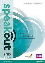 Speakout 2nd Edition Starter Teacher's Book (книга для учителя, второе издание)