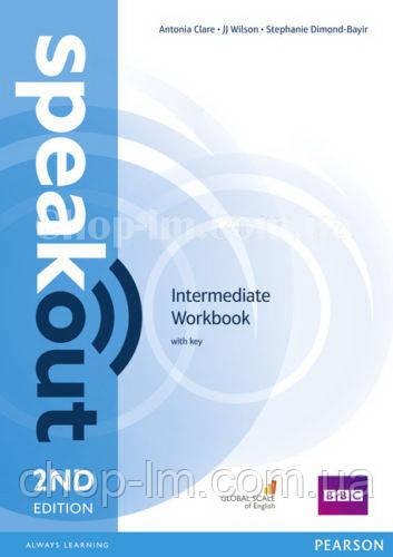 Speakout 2nd Edition Intermediate Workbook with Key (Тетрадь с ответами, 2-е изд.)