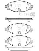Передние тормозные колодки  Шкода Октавия А7 Superb 3 KODIAQ