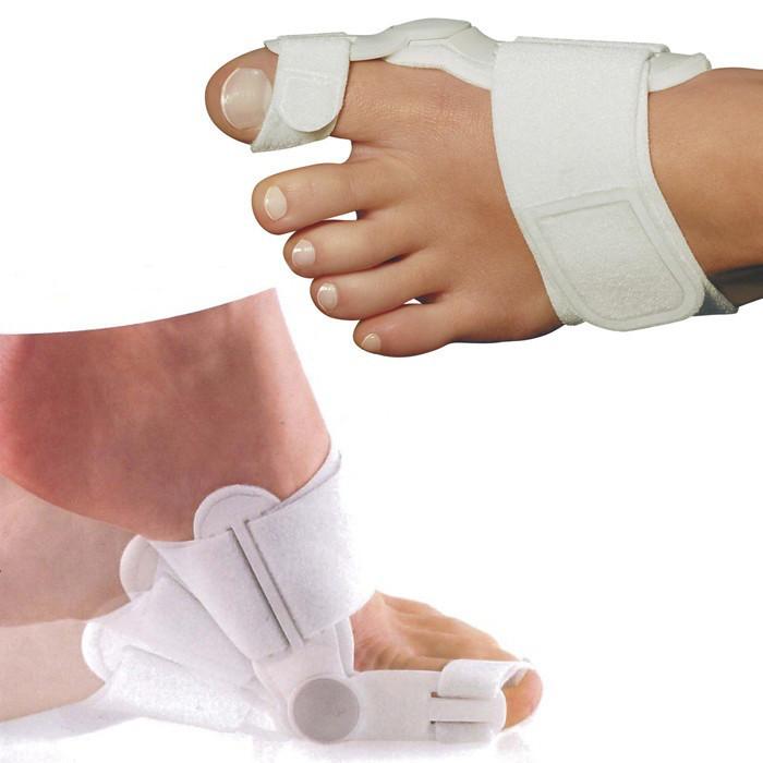 Вальгусный бандаж ПАРА 2 шт. Ортопедическая вальгусная шина, корректор большого пальца стопы