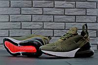 Кроссовки мужские Nike Air Max 270 код товара KD-11490. Зеленые