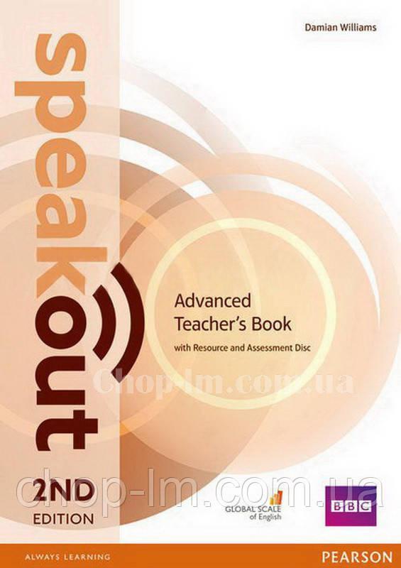 Speakout 2nd Edition Advanced Teacher's Book (книга для учителя, второе издание)