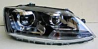 Передние Volkswagen Jetta Mk6 альтернативная тюнинг оптика фары передние на VOLKSWAGEN Фольксваген Jetta Mk6, фото 1