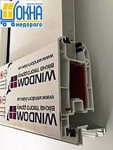 Входная пластиковая дверь 1300*2050, фото 3