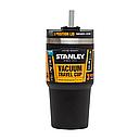 Термокружка з соломинкою Stanley Quencher Matte (0.6 л), чорна, фото 5