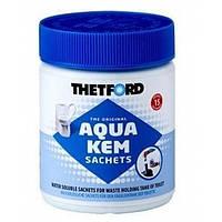 Средство для дезодорации биотуалетов Thetford Aqua Kem Sachets 15 пакетов (для нижнего бака) (код 174-44345)