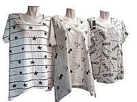 Женские длинные футболки