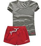 Шорты женские и футболка, комплект. Размеры 40-56.Мод. М-28.., фото 2