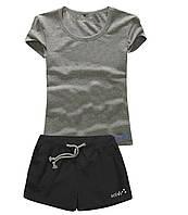 Шорты женские и футболка, комплект. Размеры 40-56.Мод. М-28.., фото 1