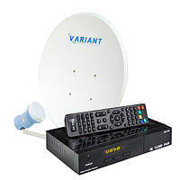 Комплект для сутникового ТВ на 1 спутник «Для Дачи» SD