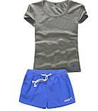 Шорты женские и футболка, комплект. Размеры 40-56.Мод. М-28.., фото 7