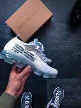 Мужские кроссовки Off-White x Nike Air VaporMax White, фото 3