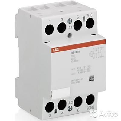 Модульный контактор ABB ESB63-40 (42V), GHE3691102R0002