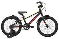 Велосипед 18'' Pride ROWDY (AL) 18 чорний 2019