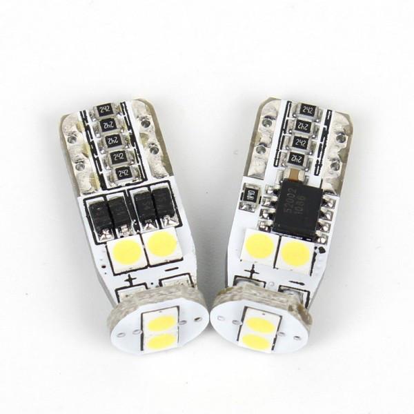 Светодиодные автолампы CARLAMP W5W 3U6-T10W5W-W