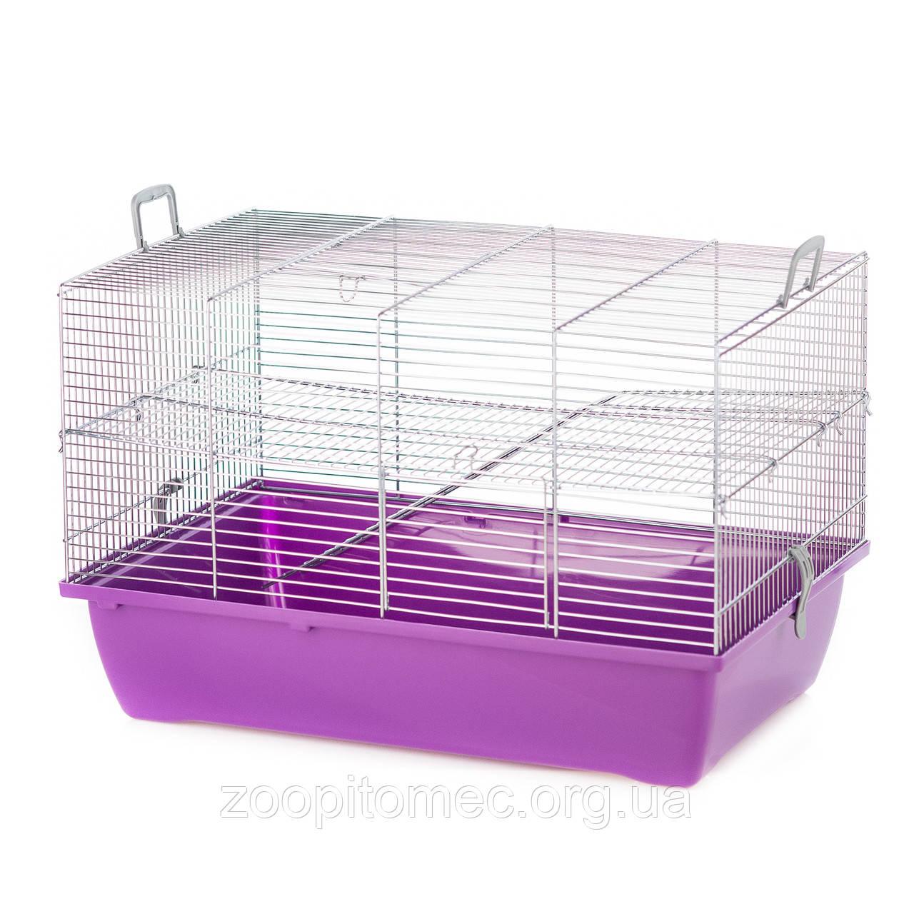 Клетка для грызунов  PINKY 2 METAL ZINC 500*330*330
