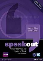Speakout Upper-Intermediate Students Book with DVD (учебник/підручник с диском)