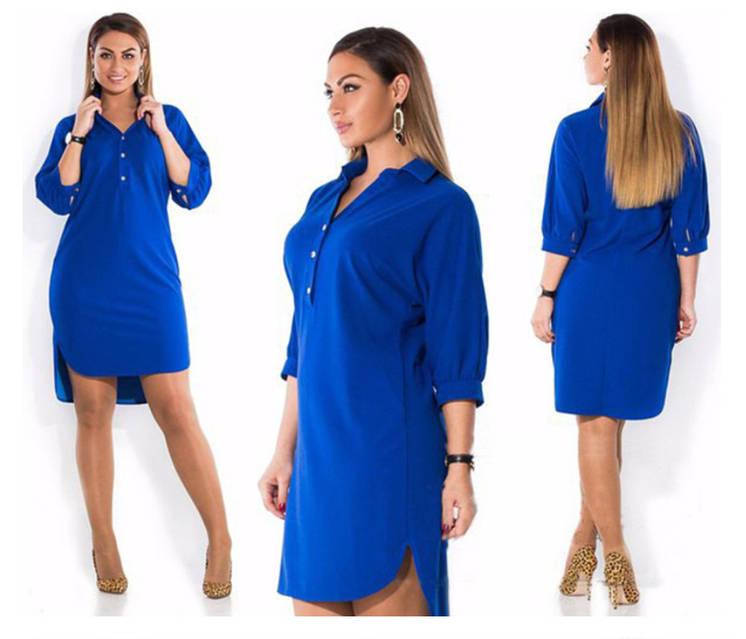 Женское платье-рубашка AL3047, фото 2