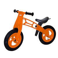 Детский беговел Cross bike 11-018 Kinderway, с надувными шинами 12 дюймов