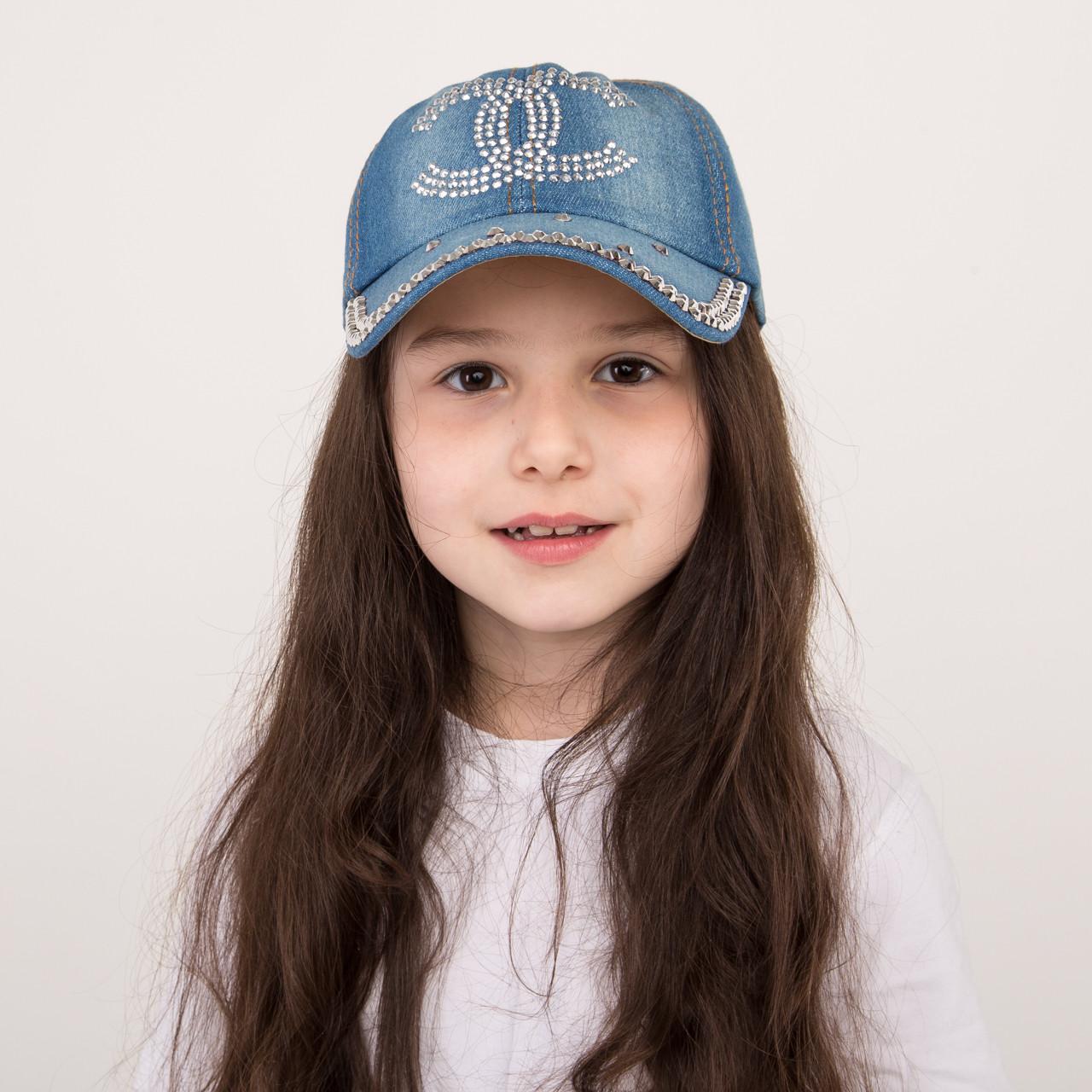 Джинсовая модная кепка для девочек - CHANEL - 32018-16