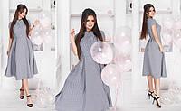 Платье мелкая клеточка в расцветках 33096, фото 1