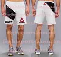 "Мужские Шорты UFC REEBOK PRO WHITE ""В стиле"""