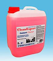 Средство для удаления цементного налета и глубокой очистки плитки - Cement Cleaner 5 л