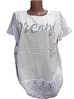 Женские футболки со стразиками