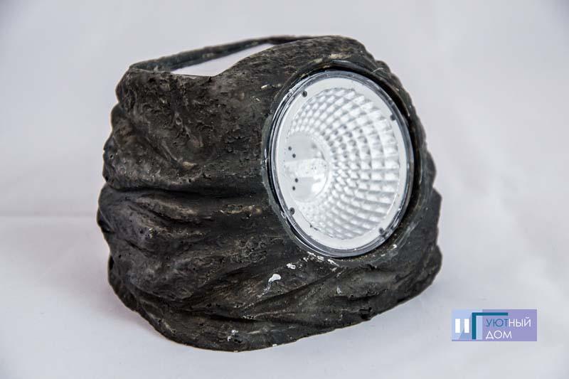 Газонный светильник на солнечной батарее Lemanso CAB89 Камень
