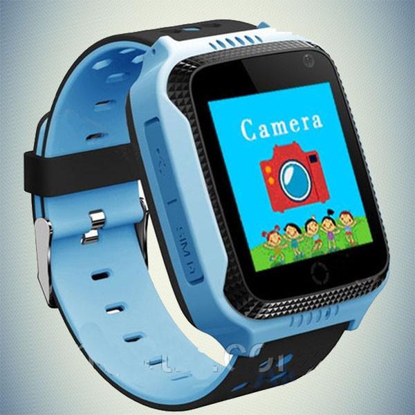 Детские умные часы GPS- (Q65/T7) с фонариком
