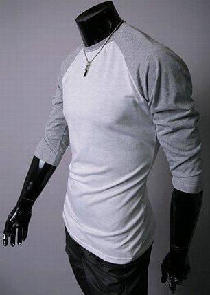 Мужская футболка с длинным рукавом, фото 2