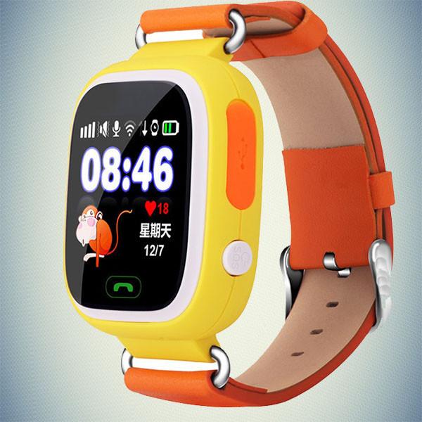 Детские cмарт часы smart watch GPS Q100