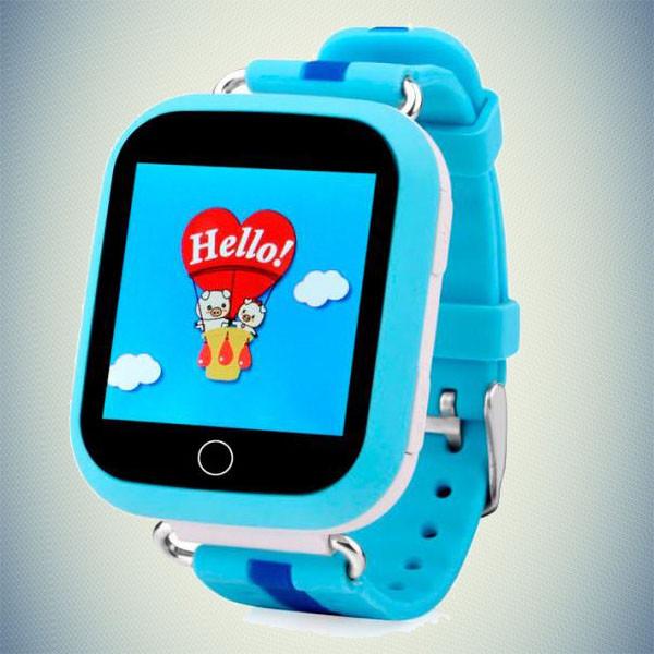 Детские умные GPS часы - Q750 (Q100s) голубой