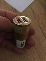 Автомобільний зарядний пристрій для iPhone та Android. 2 usb, 2.1 A