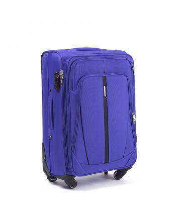 Чемодан сумка Suitcase 2 колеса набор 3 штуки фиолетовый
