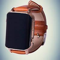 Умные часы GPS- A16 с пульсометром - золото