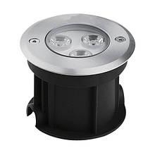 Тротуарний світлодіодний світильник Feron SP4111 3W 2700K/6400K