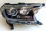 Передние Ford Ranger T7 альтернативная тюнинг оптика фары тюнинг-оптика передние на для FORD Форд Ranger T7, фото 2