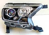 Передние Ford Ranger T7 альтернативная тюнинг оптика фары тюнинг-оптика передние на для FORD Форд Ranger T7, фото 4