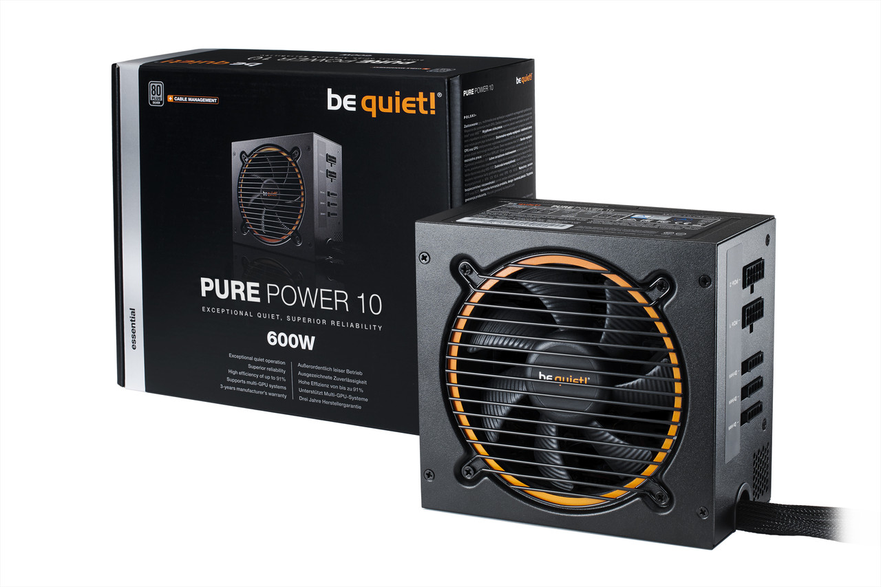 "Блок питания be quiet! Pure Power 10 600W CM (BN278) ""Over-Stock"""