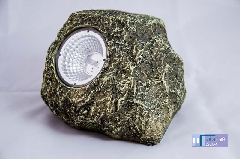 Газонный светильник на солнечной батарее Lemanso CAB90 Камень