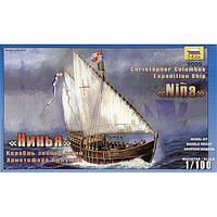 Корабль Хр. Колумба Нинья + сертификат на 50 грн в подарок (код 177-45279)