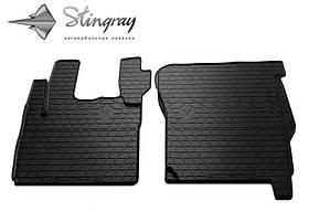 Резиновые передние коврики в салон DAF CF 2000-2013 Stingray 1039022
