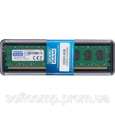 ec401a497028 Модуль памяти для компьютера DDR3 8GB 1333 MHz GOODRAM (GR1333D364L9 8G)