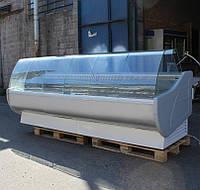 """Холодильная витрина """"JUKA W-1 300/110"""" 3,0 м. (Польша) Бу"""