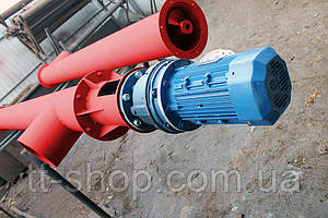 Шнековый питатель для цемента ø 220 мм, 2 м.