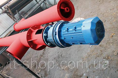 Шнековый питатель для цемента ø 220 мм, 4 м., фото 2